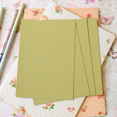 olive crush postcard blanks