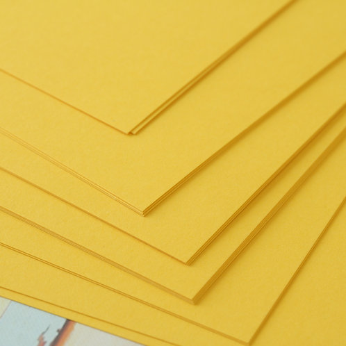 gold yellow craft style cardstock