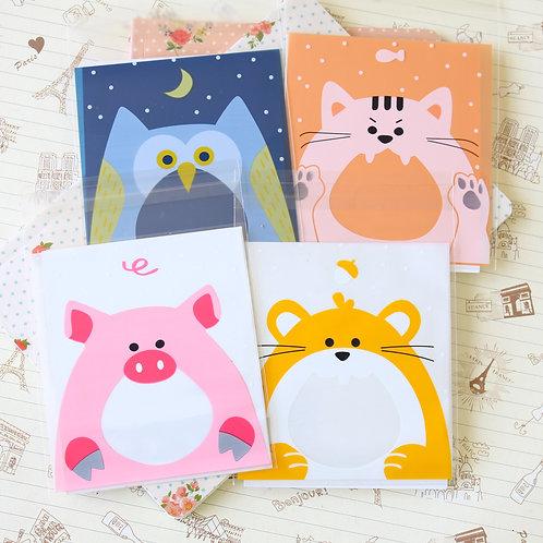 lovely animals cartoon cello bags