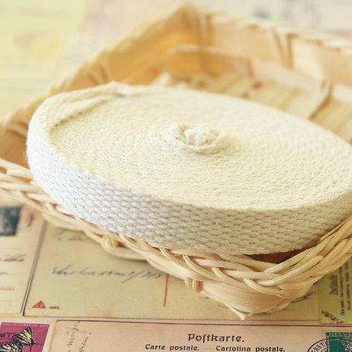 thin natural webbing sewing tape