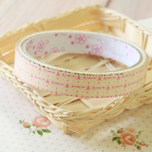 paris cream medium deco tape series 9
