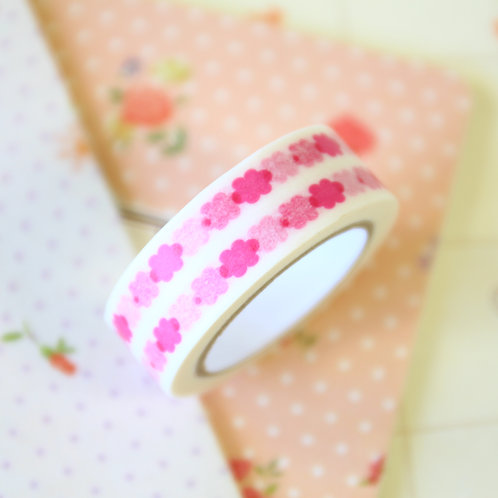 pink clouds washi tape