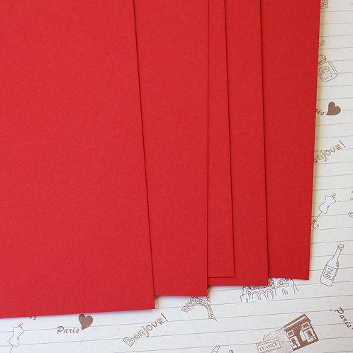 christmas red papermill series card stock