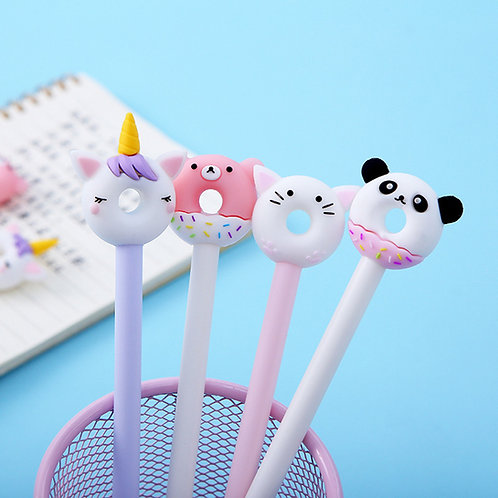 animal donut cute cartoon gel pen