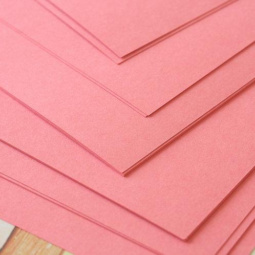 cerise pink craft style cardstock