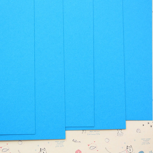 light blue colorset card stock