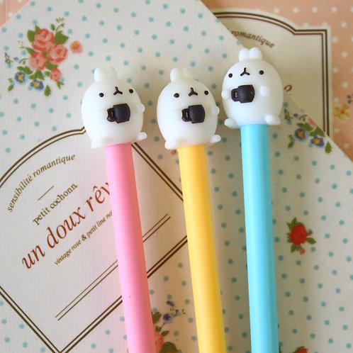 molang potato rabbit cartoon pens
