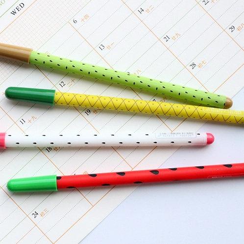 sweet fruits cartoon pens