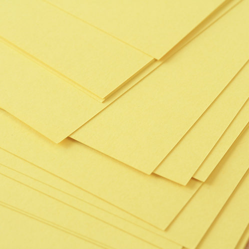 sunlight yellow craft style cardstock