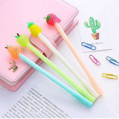 fresh fruit cartoon pens