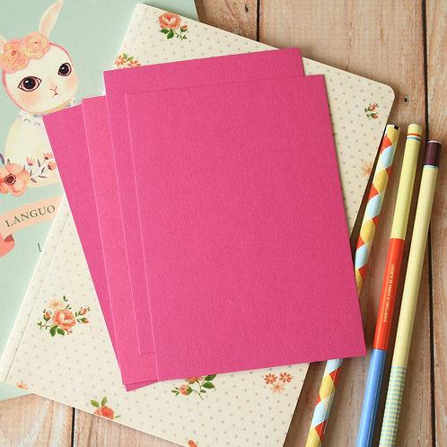 magenta pink eco postcard blanks