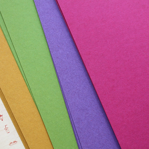 recycled tinted manilla color card stock