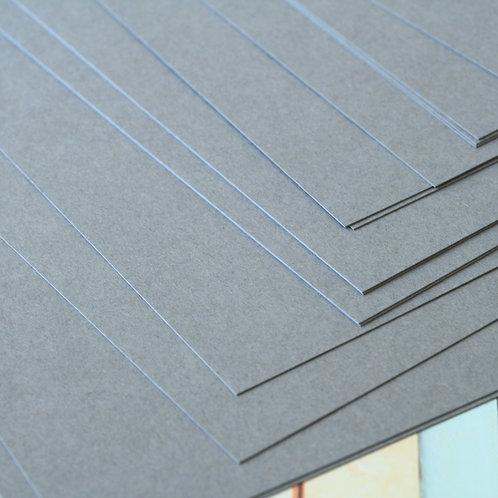 dark grey craft style cardstock
