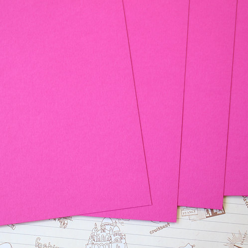 raspberry pink papermill series card stock