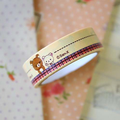 rilakkuma bear cartoon washi tape 09