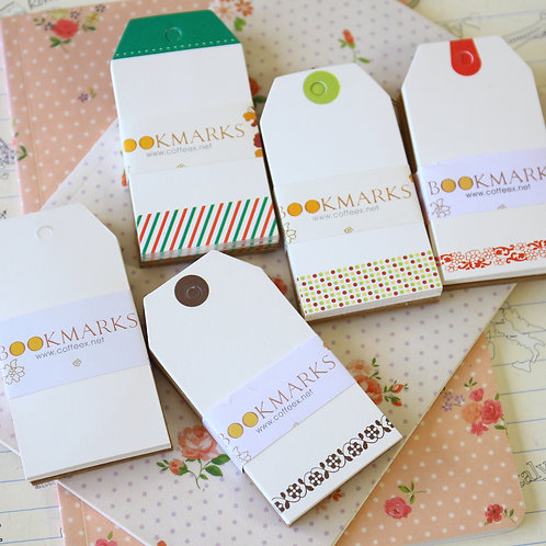bookmarks fancy luggage gift tags