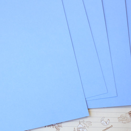 marine blue papermill series card stock