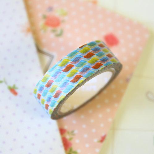 shapes pattern washi tape
