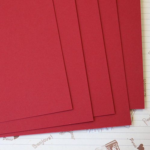 ruby red papermill series card stock