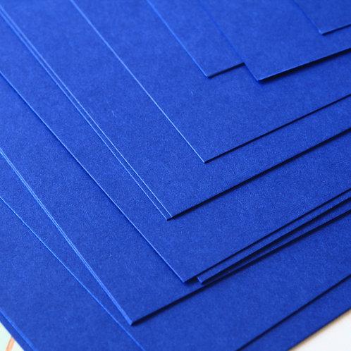 cobalt blue craft style cardstock