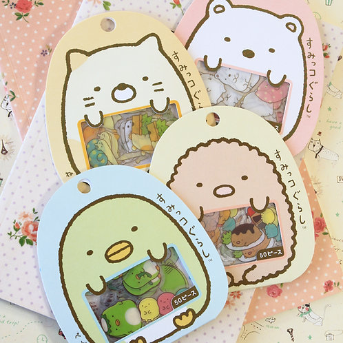 sumikkogurashi cartoon sticker flakes