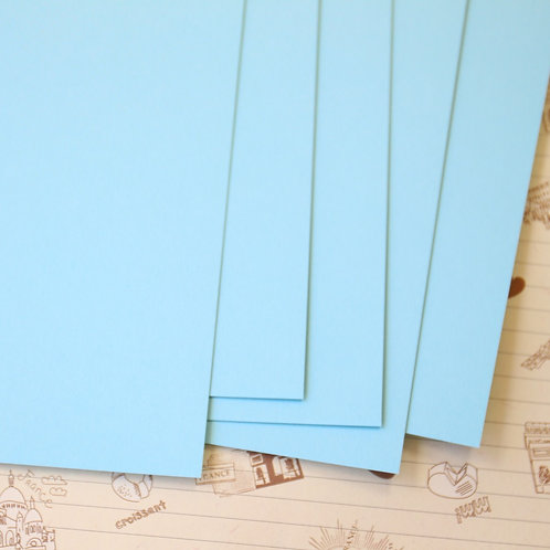 pale turquoise papermill series card stock