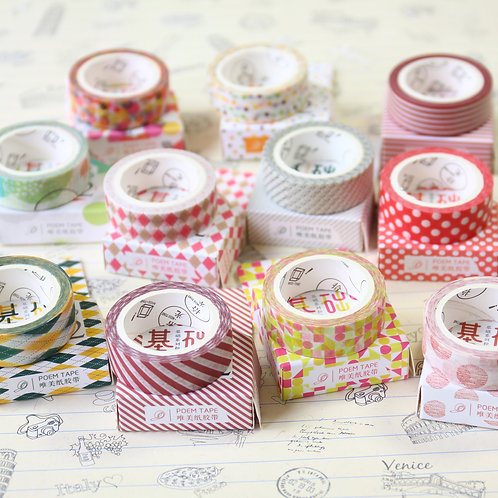 miss time poem tape deco washi tape