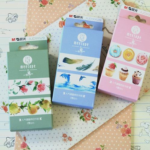meetape sweet cartoon deco washi tape set