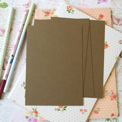 hazelnut crush postcard blanks