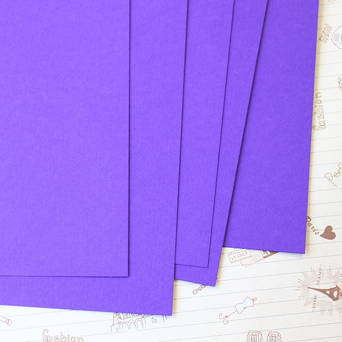 dark violet papermill series card stock