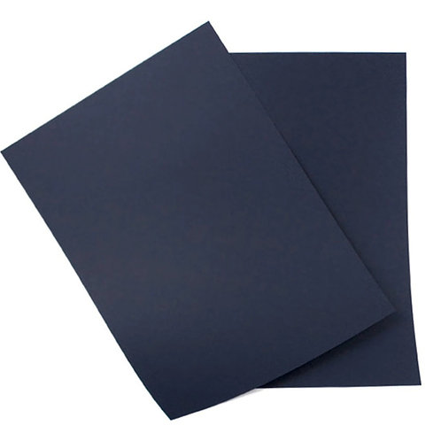 navy blue matte colour card stock