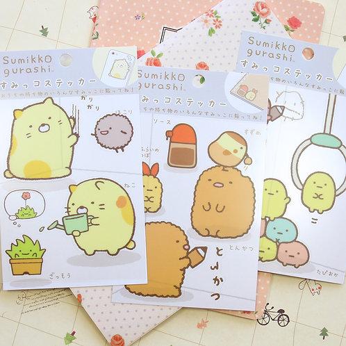 sumikkogurashi cartoon deco stickers