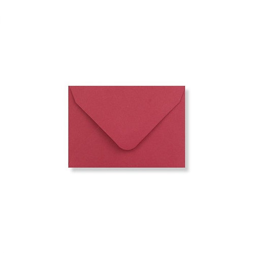 bright red clariana mini envelopes and note cards