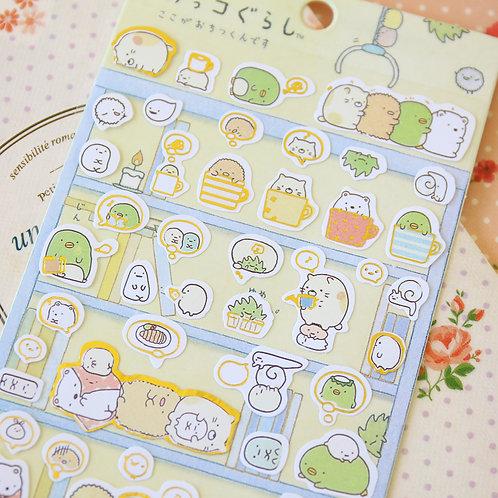 03 sumikkogurashi cartoon stickers