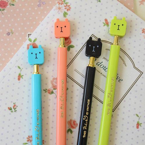 make me smile rabbit cute cartoon pens