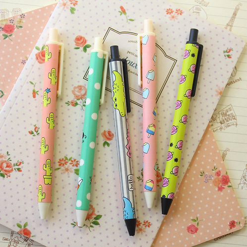graffiti time cartoon clicker pens