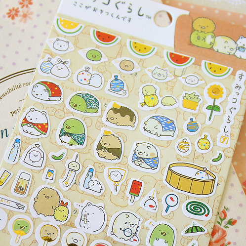 05 sumikkogurashi cartoon stickers