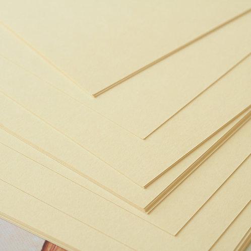 cream craft style cardstock