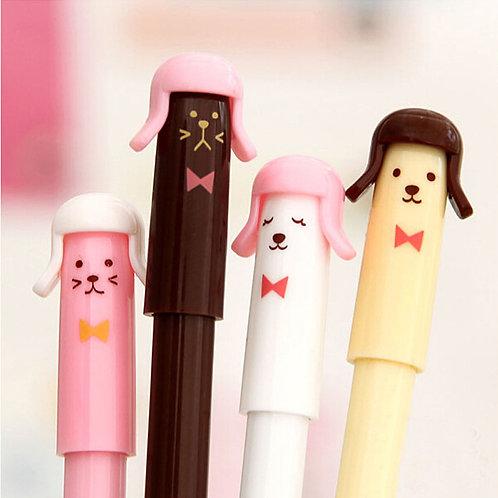 kitten & doggie cartoon pens