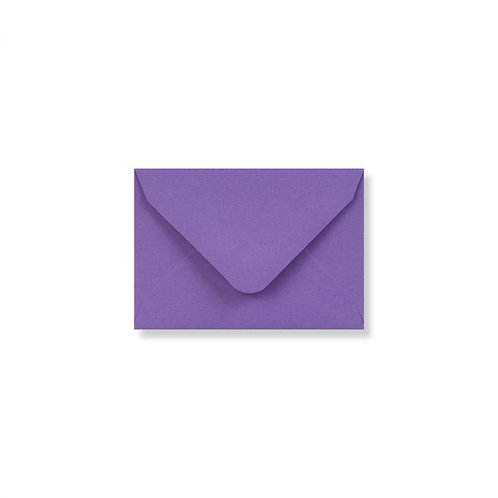 purple clariana mini envelopes and note cards