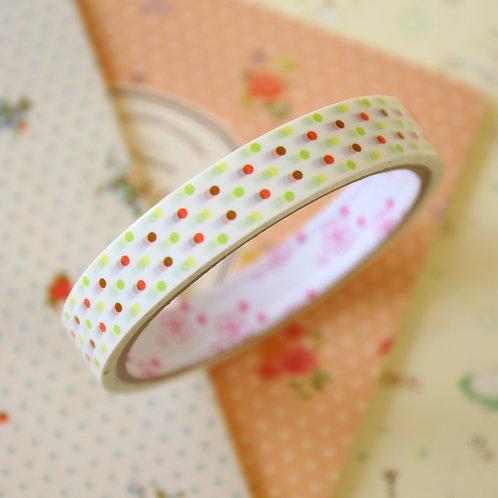 polka dots medium pattern deco tape
