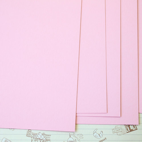 baby pink papermill series card stock