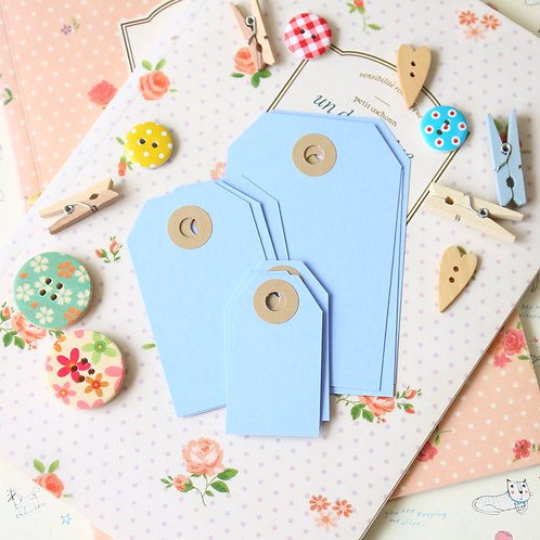 marine blue papermill series luggage gift tags