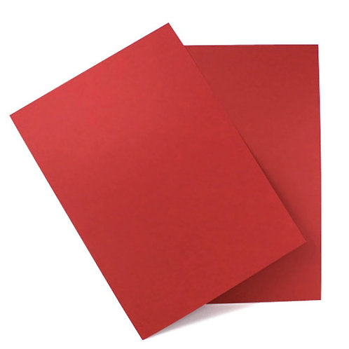 cherry red matte colour card stock