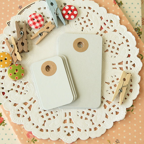 ash grey rounded rectangle tags
