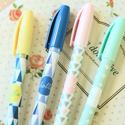 hello student pastel deco pens