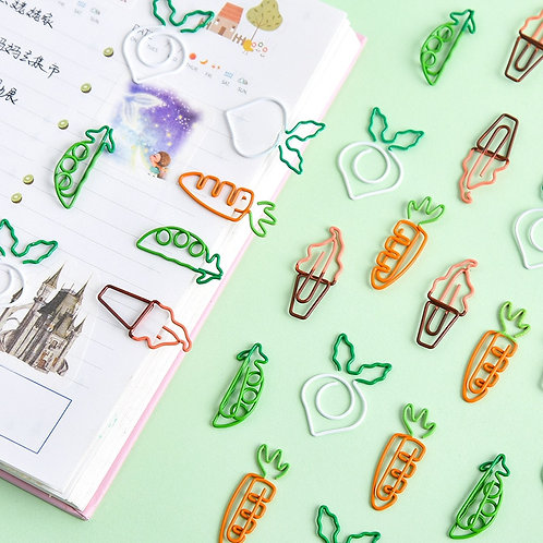 creative shapes paper clips