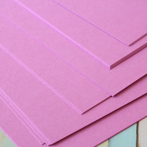 bouquet lilac craft style cardstock