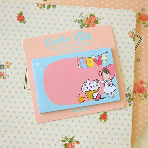 love pony brown little talk cartoon sticky notes ver 02