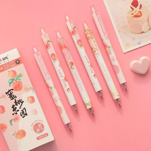 sweet peach clicker pen